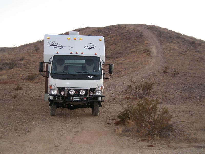 Mitsubishi Canter/FG 140 4x4 buildup - Horizons Unlimited